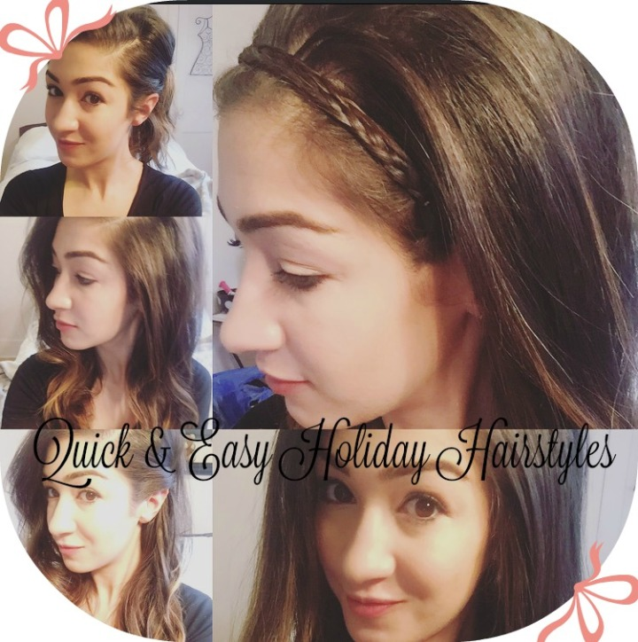 Quick & Easy HolidayHairstyles