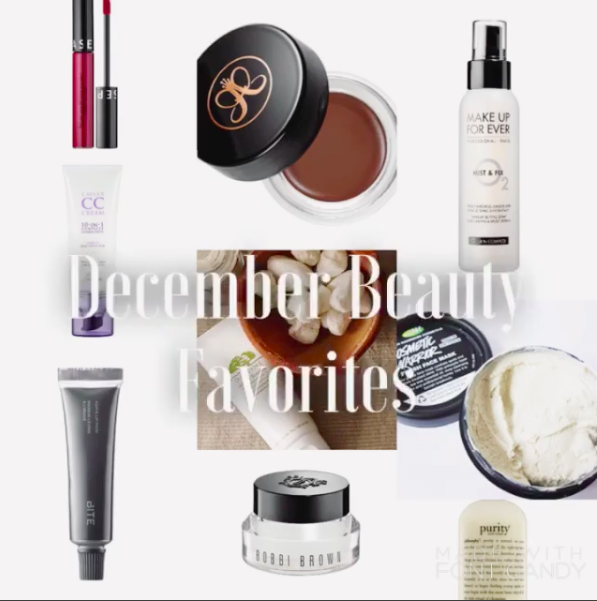 December Beauty Favorites